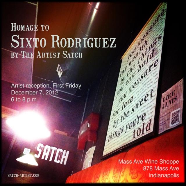 Homage to Sixto Rodriguez